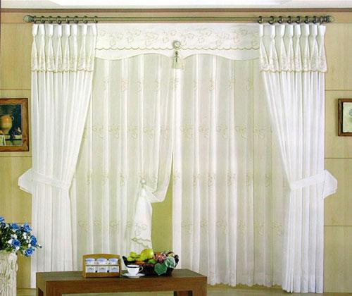 韩版窗帘效果图