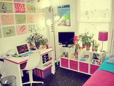 主卧室 装修效果图 窗帘少用粉色调